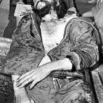 Che Guevara asesinado a balazos.