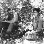 Che Guevara con Tania en Bolivia.